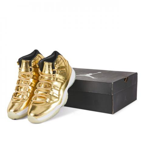 Where To Buy Air Jordan 11 Metallic Gold Shoes For Sale Online