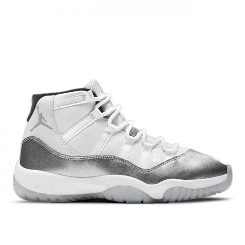 Women's Air Jordan 11 Retro Metallic Silver