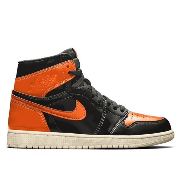 2019 1s Shattered Backboard 3.0 Retro Jordan Hi OG Pale Vanilla-Starfish