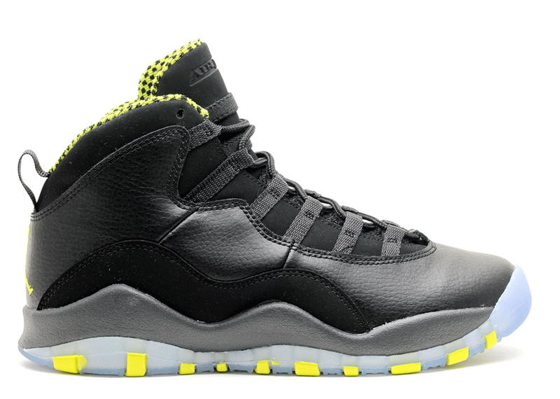 Air Jordan 10 Retro Venom GS Womens 310806 033
