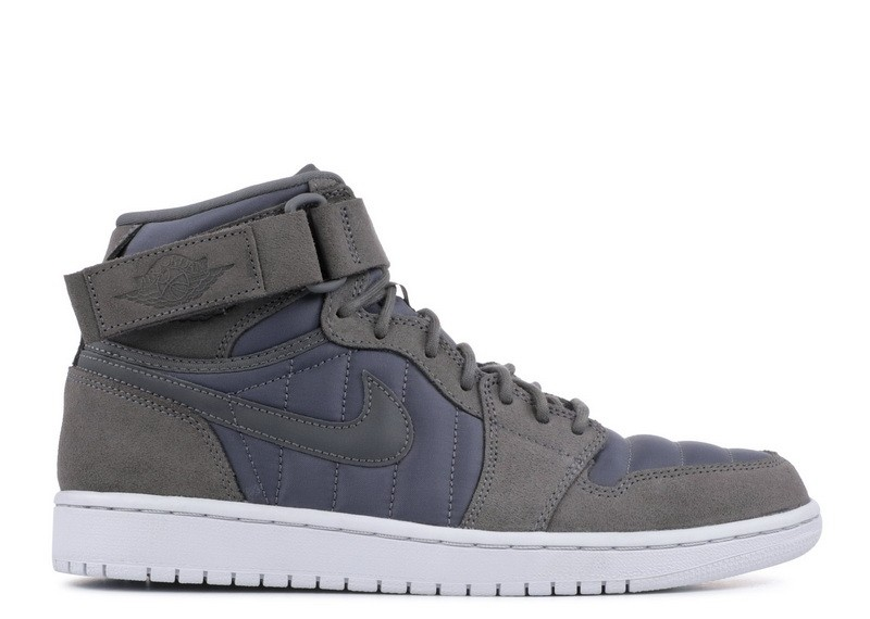 Air Jordan 1 High Strap Dark Grey 342132 005