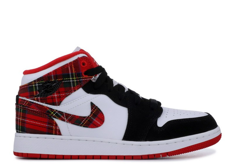 Air Jordan 1 Mid Gs 554725 607