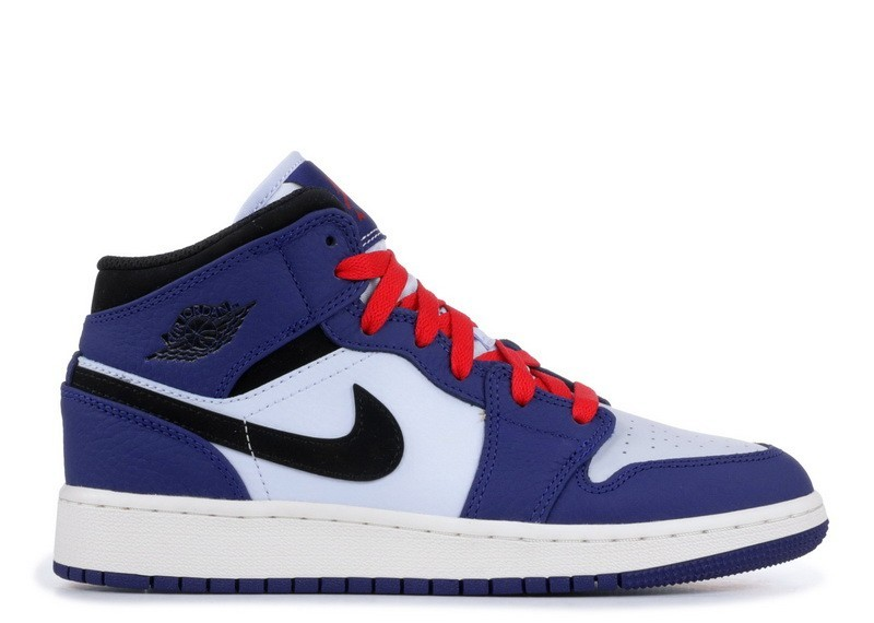 Air Jordan 1 Mid Spider-Man Deep Royal bq6931-400 (GS)
