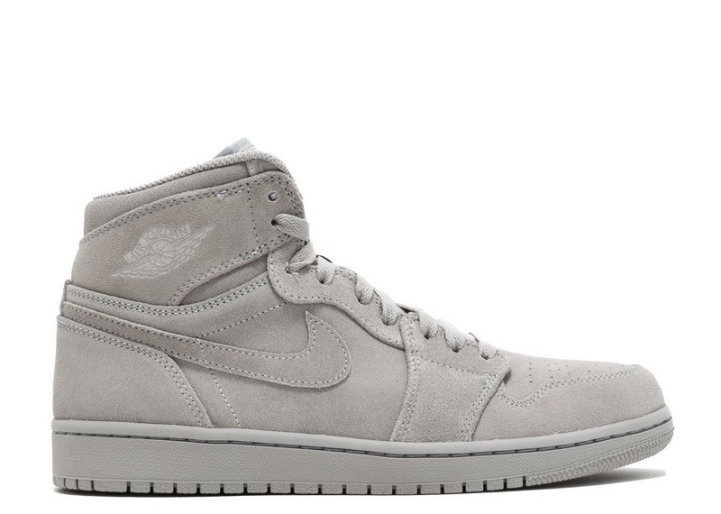 Air Jordan 1 Retro High Grey Suede 332550 031