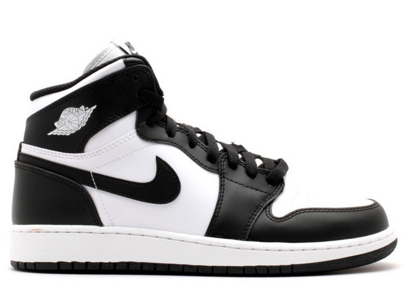 Air Jordan 1 Retro High OG Black White GS Women's 575441 010