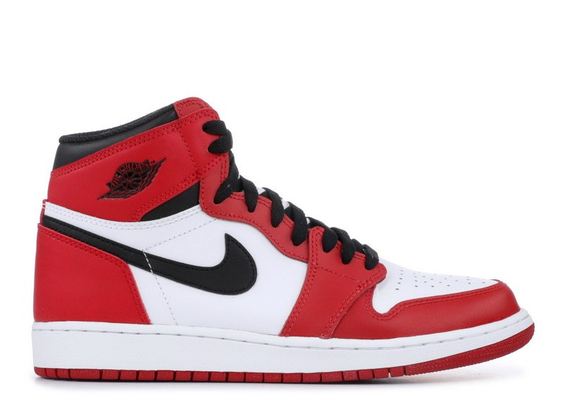 Air Jordan 1 Retro High OG Chicago BG Women's 575441 101