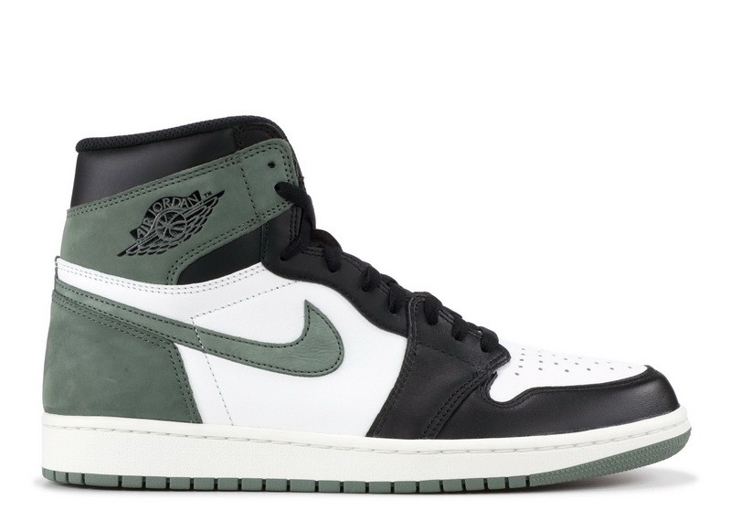 Air Jordan 1 Retro High Og Clay Green 555088 135