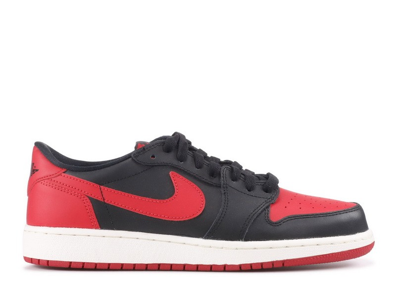 Air Jordan 1 Retro Low Og Bg gs Bred 709999 001