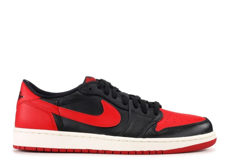 Air Jordan 1 Retro Low Og Bred 705329 001