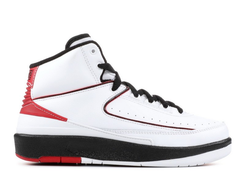 Air Jordan 2 Retro Varsity Red White 2010 GS 395718 101