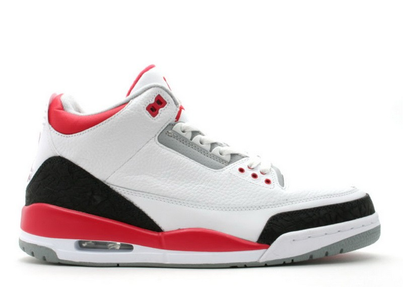 Air Jordan 3 Retro Fire Red 136064 161
