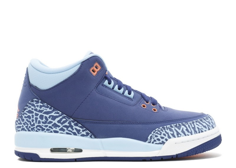 Air Jordan 3 Retro Purple Dust GS Women's 441140 506