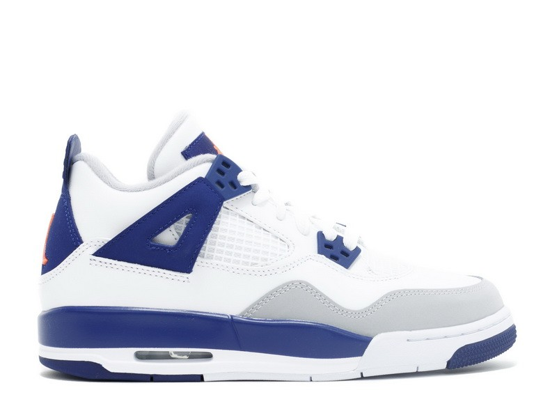 Anunciante Odia letal  Air Jordan 4 Retro Knicks GS Women's 487724 132