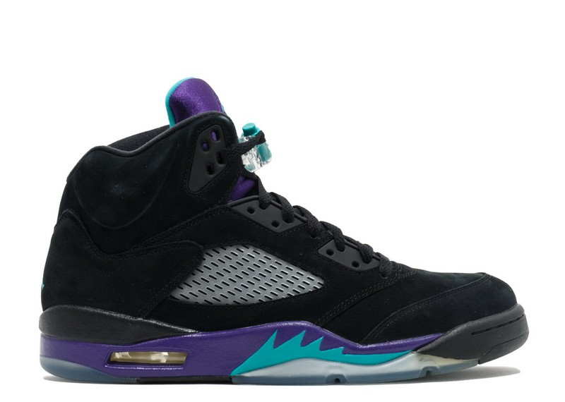 Air Jordan 5 Retro Black Grape 136027 007