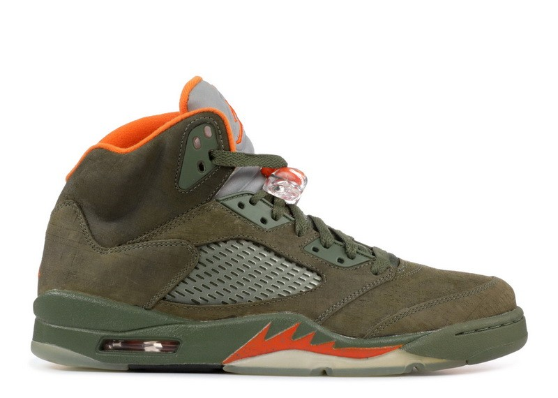 Air Jordan 5 Retro Ls Army Olive 314259 381 Hot Sale