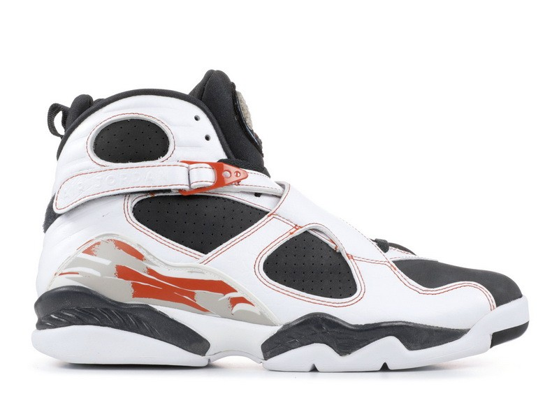 Air Jordan 8 Retro Ls Black Toe 317258 104