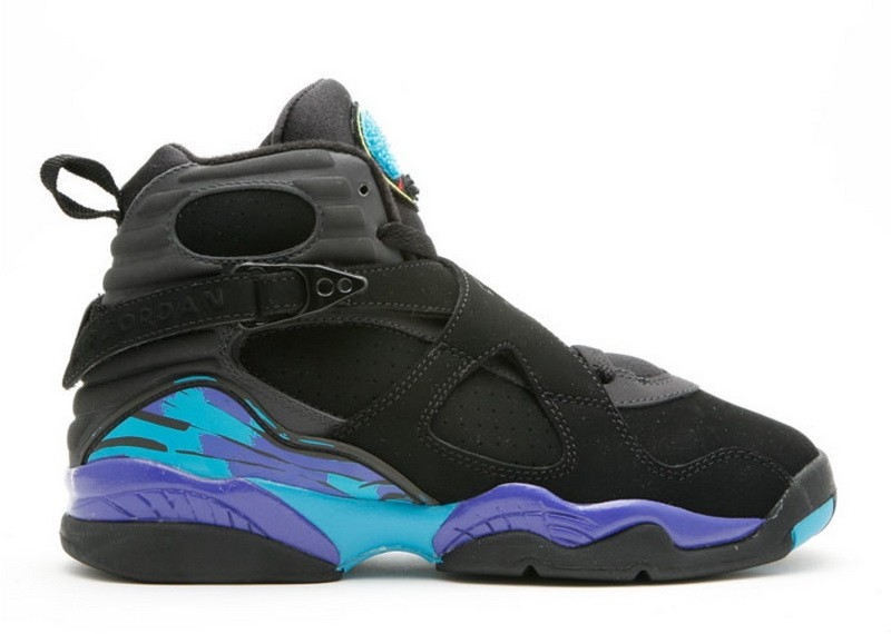 Air Jordan 8 Retro Aqua GS Women's 305368 041