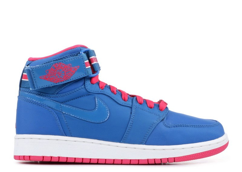 Girls Jordan 1 Hi Strap gs 343184 441