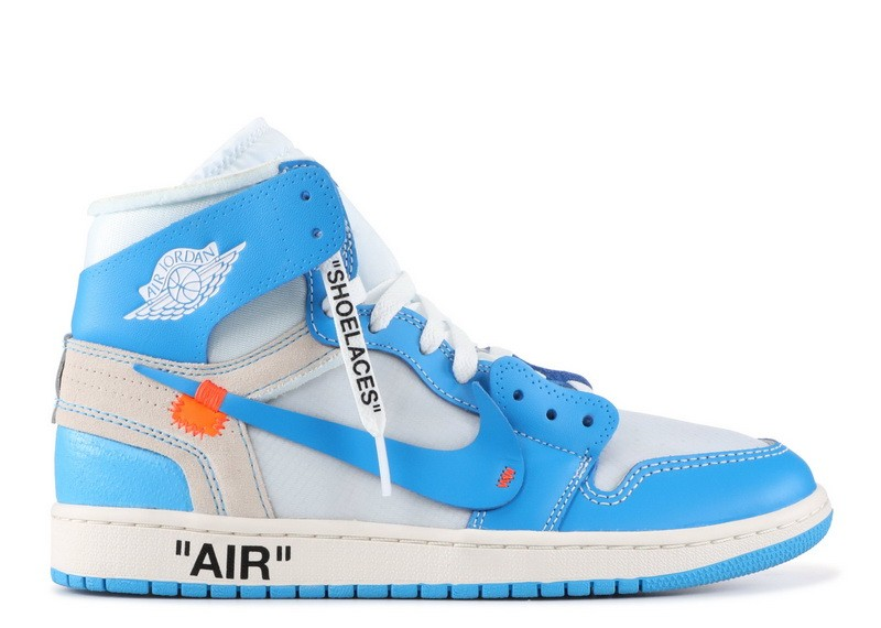 Air Jordan 1 Retro High Off White UNC aq0818 148