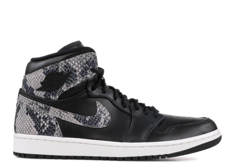 Air Jordan 1 Ret HI Black Phantom Wmns AH7389 014