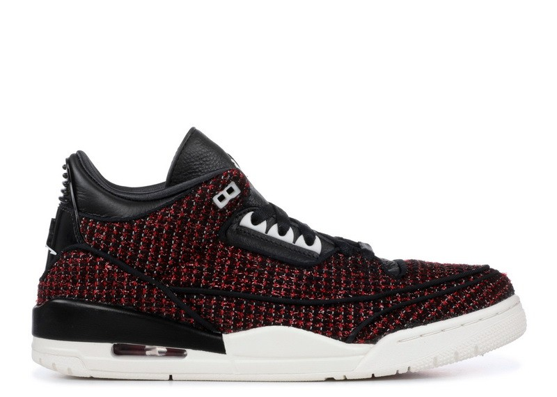 Air Jordan 3 AWOK Vogue University Red(W) BQ3195-601
