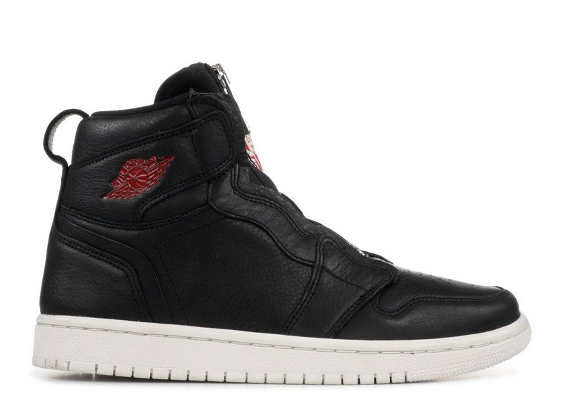 Wmns Air Jordan 1 Hi Zip Prem Black at0575 006