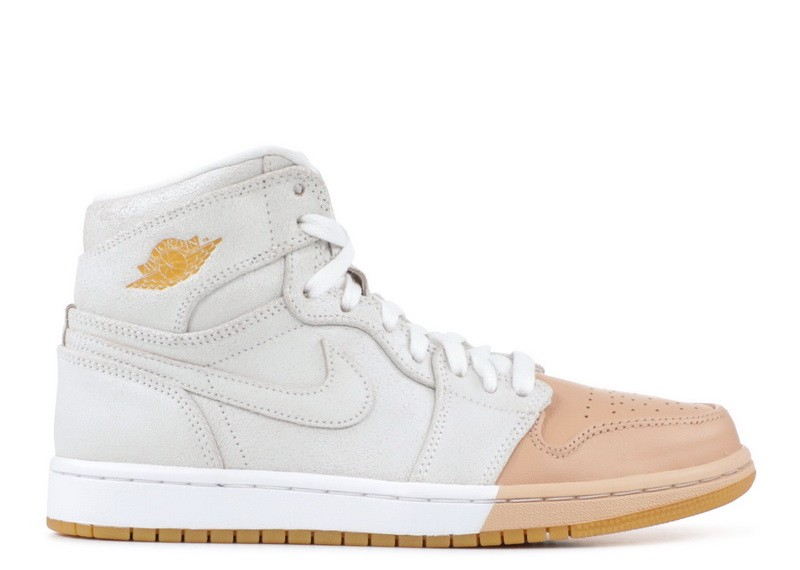 Wmns Air Jordan 1 High Dip-Toe White ah7389 107