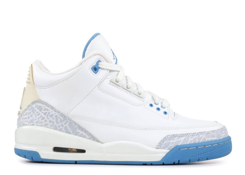 Air Jordan 3 Retro Harbor Blue Women's 315296 142