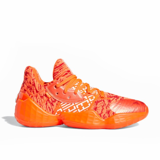 Adidas Harden Vol. 4 Scarlet/Cloud White-Solar Red EH2409