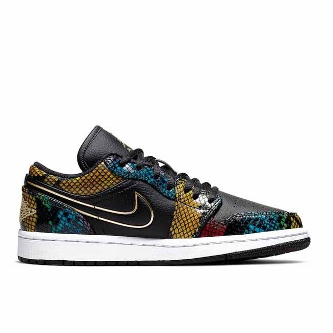 2020 Air Jordan 1 Low WMNS Multi Snakeskin CW5580-001