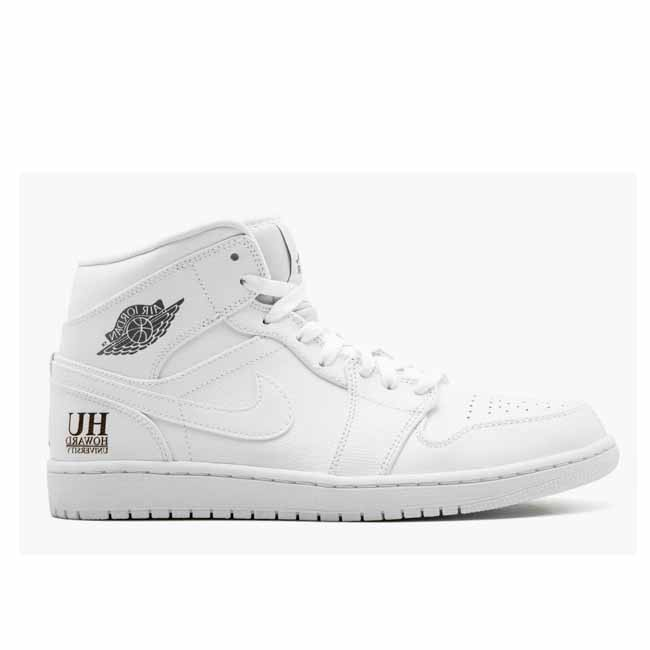 Air Jordan 1 Mid Howard University Mens 554724 120A