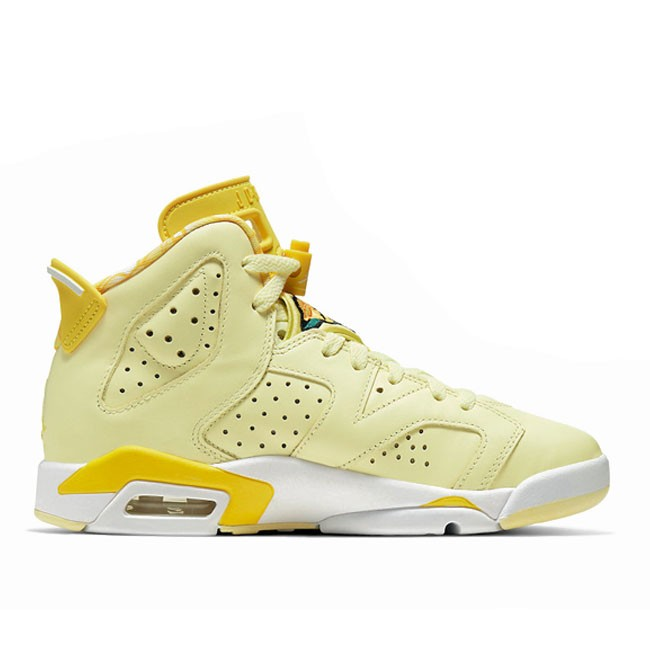Air Jordan 6 Floral Dynamic Yellow GS 543390-800
