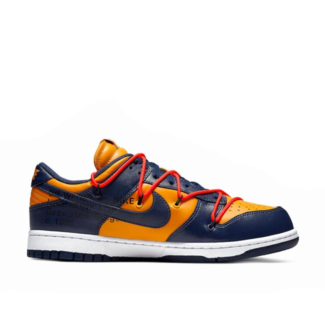 Off-White x Nike Dunk Low University Gold CT0856-700