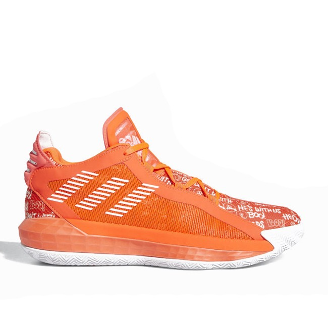 Solar Red adidas Dame 6 Hecklers