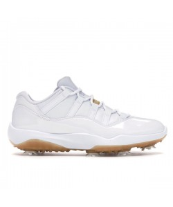 2019 New Golf 11s Air Jordan White Metallic Gold AQ0963-102