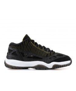 Air Jordan 11 Retro Low IE Black Zest 306008 002 Cheap Sale