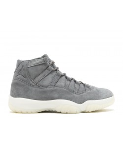 Air Jordan 11 Retro Prem Grey Suede 914433 003