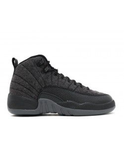 Air Jordan 12 Retro Wool BG GS 852626 003