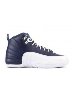 Air Jordan 12 Retro Obsidian GS Women's  153265 410