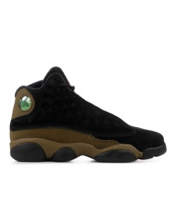 Air Jordan 13 Retro Bg gs Olive 884129 006