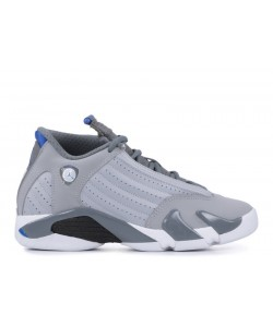 Air Jordan 14 Retro Bg gs Sport Blue 487524 004
