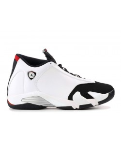 Air Jordan 14 Retro Black Toe 487471 102