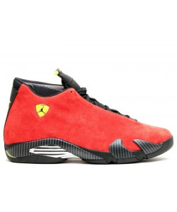 Air Jordan 14 Retro Ferrari 654459 670