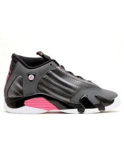 Air Jordan 14 Retro Hyper Pink GG Womens 654969 028