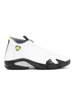 Air Jordan 14 Retro White Chartreuse 311832 132