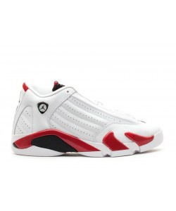 Air Jordan 14 Retro gs Candy Cane 487524 101