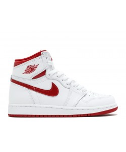 Air Jordan 1 Retro High Og Bg GS Varsity Red 2017 Release 575441 103 For Sale