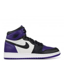 Air Jordan 1 Retro High Og Gs Court Purple 575441 501 For Sale