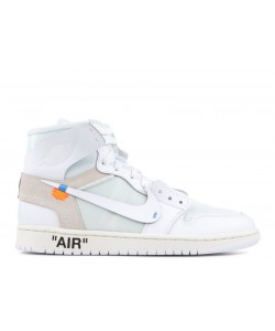 Air Jordan 1 X Off-white Nrg Off White AQ0818 100