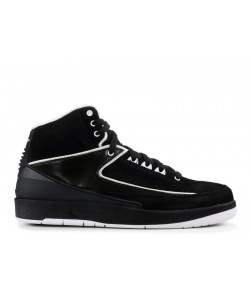 Air Jordan 2 Retro Qf Black White 395709 001
